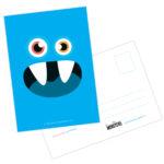 Creatieve Monsters verjaardagskaart